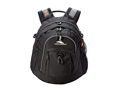 High Sierra Fat Boy Backpack (Black) Backpack Bags