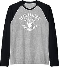 Vegetarian Is An Old Indian Word For Bad Hunter Raglan Baseball Tee