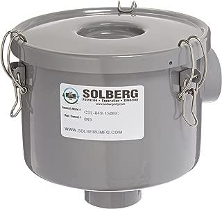 Solberg CSL-849-150HC Inlet Vacuum Pump Air Filter, 1-1/2
