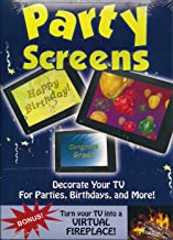New Years Party Screens Birth Days, Congrats Grads Welcome Home and More ( Screens)