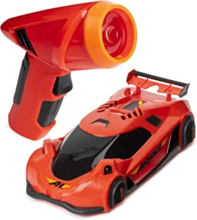 Air Hogs, Zero Gravity Laser, Laser-Guided Real Wall Climbing Race Car, Red