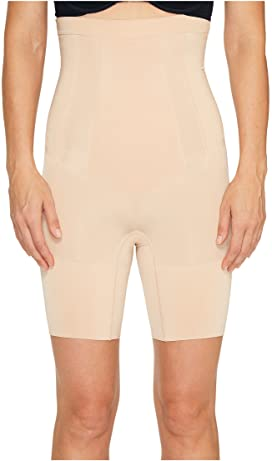 0dcc9170ea3 Spanx Plus Size OnCore High-Waisted Mid-Thigh Short at Zappos.com