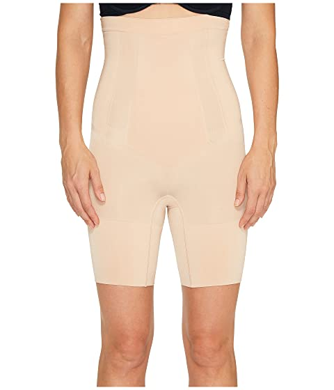 c99707244b Spanx OnCore High-Waisted Mid-Thigh Short at Zappos.com