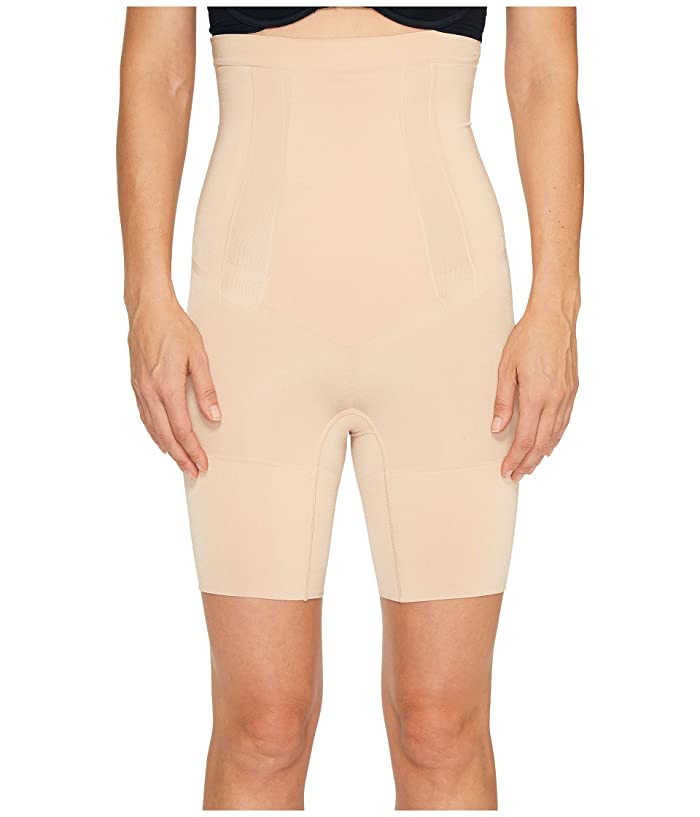 8d05387a0b4cd8 Spanx OnCore High-Waisted Mid-Thigh Short at Zappos.com