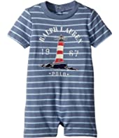Cotton Jersey Graphic Shortalls (Infant)