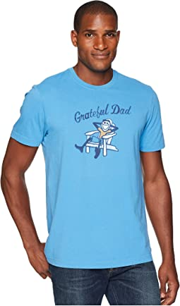 Life is Good Adirondack Grateful Dad Crusher Tee