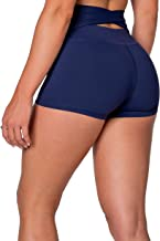 Kamo Fitness High Waist Athletic Yoga Shorts Tummy Control Workout Running