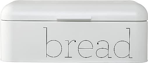 Bloomingville A97306648 Metal Bread Bin, White