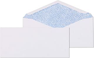 # 9 Envelope Standard No Window 3-7/8x8-7/8-Inch White Return Envelopes-Security Tinted-100 Count