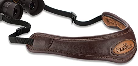 Vero Vellini Contour Binocular Leather Sling, Brown, 36-Inch