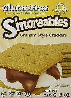 Kinnikinnick S'moreable Graham Cracker 8 OZ (Pack of 3)