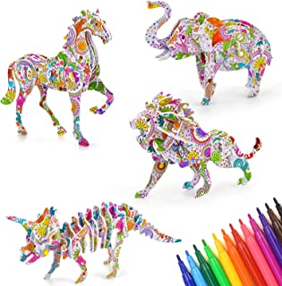 Little Guy DIY Coloriage 3D-Puzzles Jouet 6 7 8 9 10 11 Ans Fille Garçon Anniversaire Cadeau