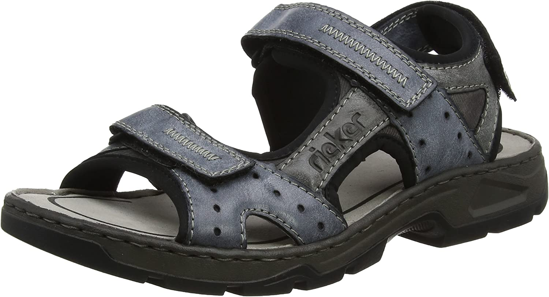 Rieker Men's 26157 Closed Toe Sandals