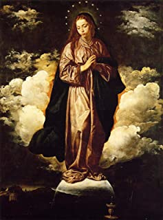 Diego Velazquez The Immaculate Conception 1619 National Gallery - London 30