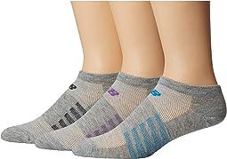 Lifestyle No Show Socks 6-Pair