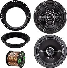 98-13 Harley Speaker Bundle: 2x of Kicker 43DSC6504 6.5