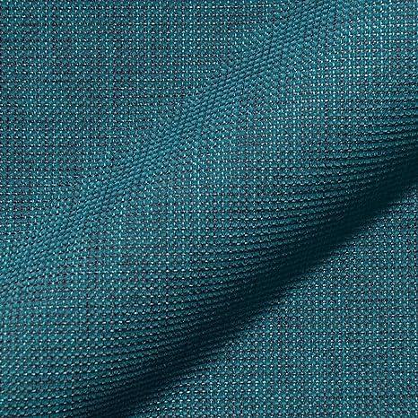Stoff Polsterstoff Möbelstoff Bezugsstoff Meterware Für Stühle Eckbänke Etc Mondo Blau Uni Muster Amazon De Küche Haushalt