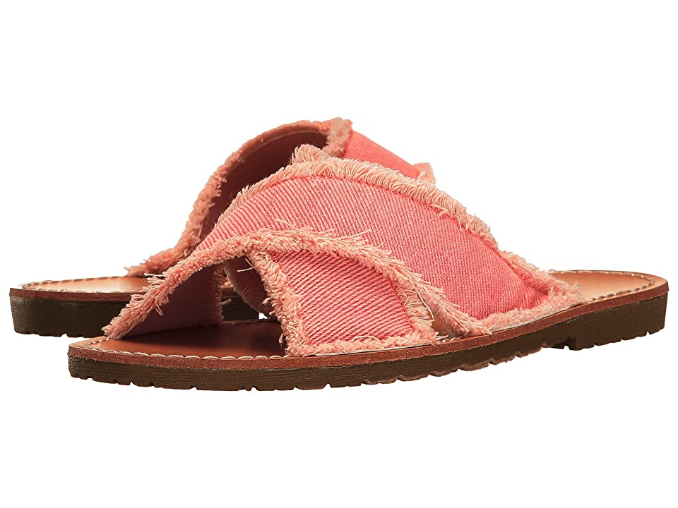 Dirty Laundry Empowered Slide Sandal (Rose Pink) Women