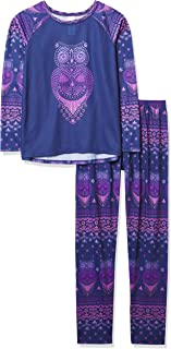 The Children's Place Girls Long Sleeve Owl Pajamas