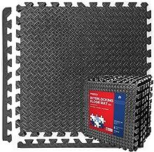 PROIRON Vloerbescherming In elkaar grijpende mat 1,2 cm / 1,9 cm extra dik Gymvloer EVA-schuimmatten Tegels 60 x 60 cm voo...