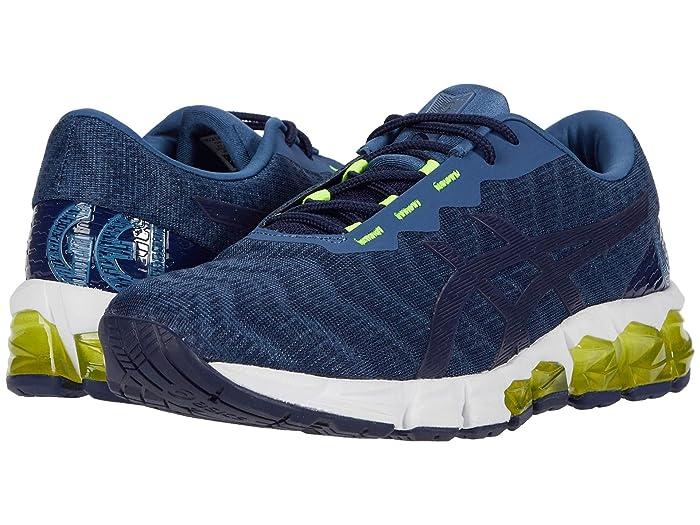 ASICS  GEL-Quantum 180 5 (Grand Shark/Peacoat) Mens Running Shoes