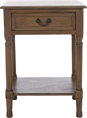 Safavieh Home Collection Whitney White 1-Drawer Accent Tables