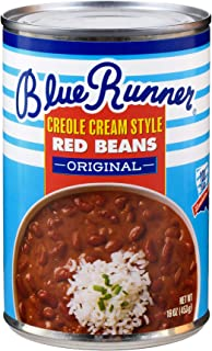 Blue Runner Creole Cream Style Red Beans, 16-Ounce (Pack of 12)