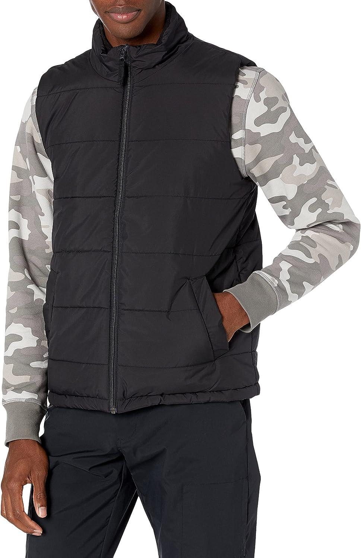 Amazon Essentials Men's Mid-Weight Puffer Vest