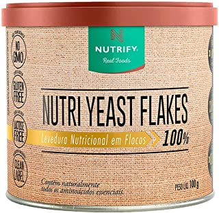 Nutri Yeast Flakes (100g) - Natural, Nutrify