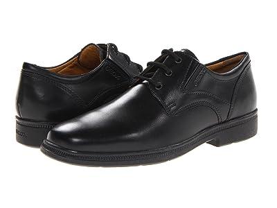Geox Kids Jr Federico 1 (Big Kid) (Black) Boys Shoes