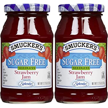 Sugar Free Seedless Strawberry Jam, 12.75 Oz