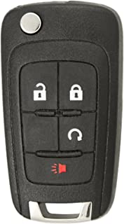 Keyless2Go Replacement Keyless Remote 4 Button Flip Car Key Fob For OHT01060512