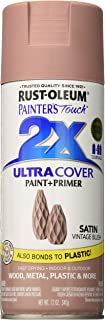 Rust-Oleum 299887 Painter's Touch 2X Ultra Cover, 12 oz, Vintage Blush