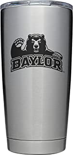 YETI Rambler 20 oz Stainless Steel Vacuum Insulated Tumbler w/MagSlider Lid (Baylor)