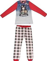 Pyjama à manches longues pour fille âge 4 6 8 10 1