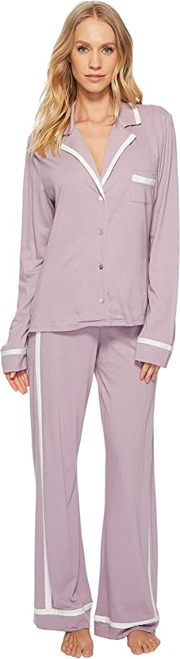Cosabella Bella Amore Long Sleeve Top Pants PJ Set