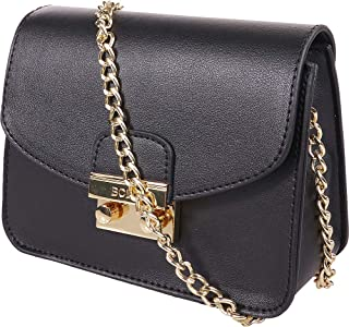 BCBGeneration Milly Small Crossbody Handbag for Women - Evening Bag, Purse with Chain Strap by BCBG