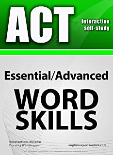 ACT Interactive self-study: Essential/Advanced WORD SKILLS. A powerful method to learn the vocabulary you need.