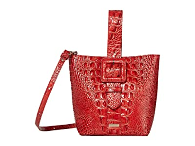 Brahmin Melbourne Faith Shoulder Bag (Lava) Shoulder Handbags