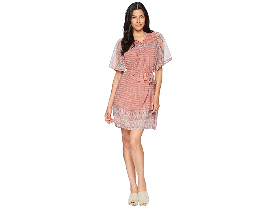Lucky Brand Jenna Dress (Pink Multi) Women