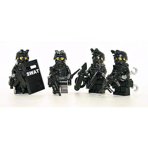 Lego Police And Swat Team Amazoncom