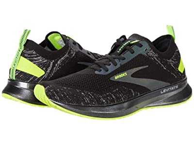 Brooks Levitate 4 (Black/Nightlife) Women