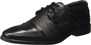 Woodland Men's BLACKLeather Casual Shoes-8 UK/India (42 EU) -(GF 2945118)