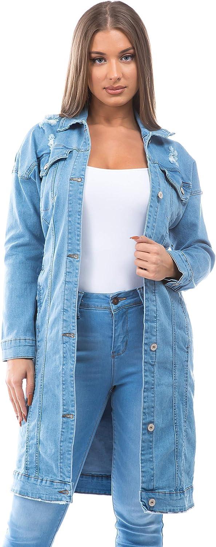 Women's Juniors Premium Denim Long Sleeve Jacket shopping online shopping