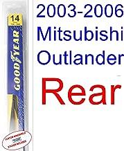 2003-2006 Mitsubishi Outlander Wiper Blade (Rear) (Goodyear Wiper Blades-Assurance) (2004,2005)