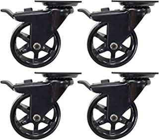 Furniture Parts for Platform Trolley Chair 4pcs//Lot Furniture Wheel Color : F45A30 Fixed Rolling Caster Wheel Castor White PP Nylon Fixed Caster Xuulan Xianglaa-Wheel casters