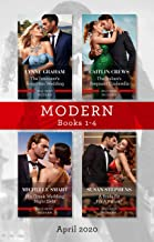Modern Box Set 1-4 April 2020/The Innocent's Forgotten Wedding/The Italian's Pregnant Cinderella/His Greek Wedding Night Debt/A Bride Fit (Passion in Paradise Book 7)