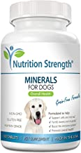 Nutrition Strength Minerals for Dogs, Support Cells & Nerves, Fortify Bones & Muscles, Promote Overall Health with Calcium...