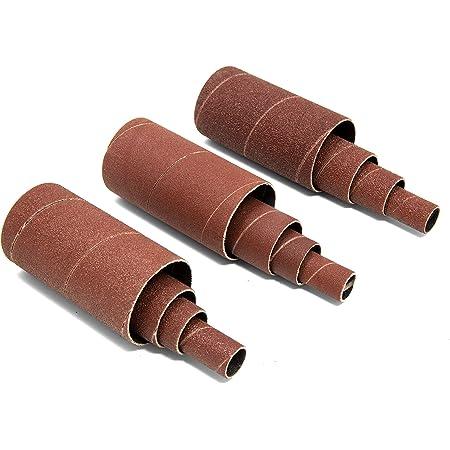 Pump Sleeves 4-Pack,abrasives 3x9 Aluminum Oxide 150j Pump Sander Sleeve Sanding Sleeves j-Weight Aluminum Oxide, A/&H Abrasives 918650