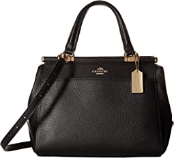 COACH - Drifter Satchel in Polished Pebble Leather